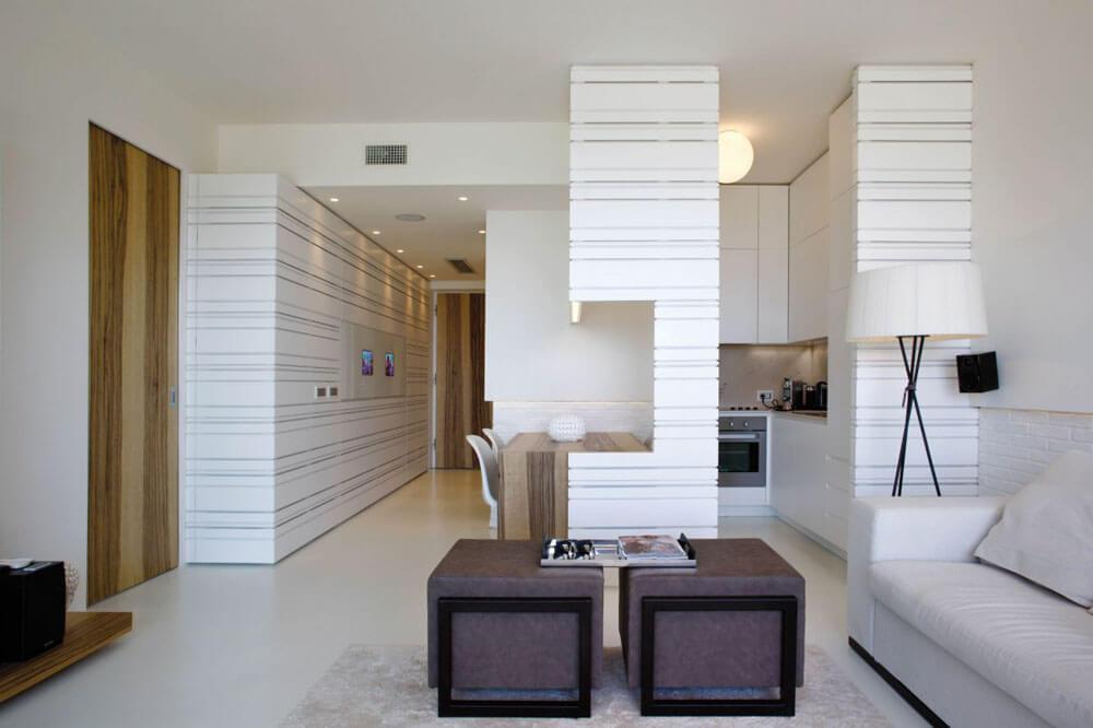el piso es elegante