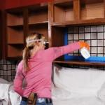 Cómo pintar los gabinetes de cocina como todo un profesional  de la pintura