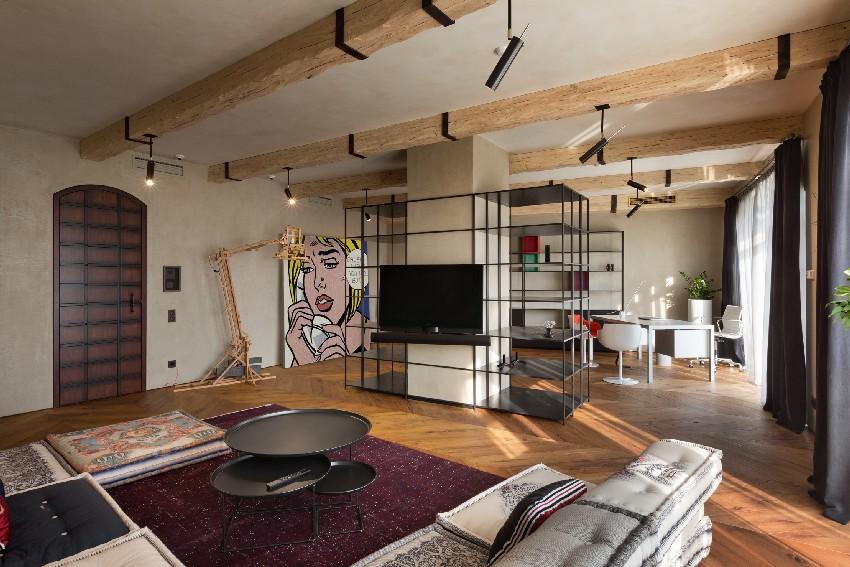La decoración y el diseño interior es perfecto