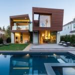 Casa Split: Casa sostenible de verano en Santa Mónica California