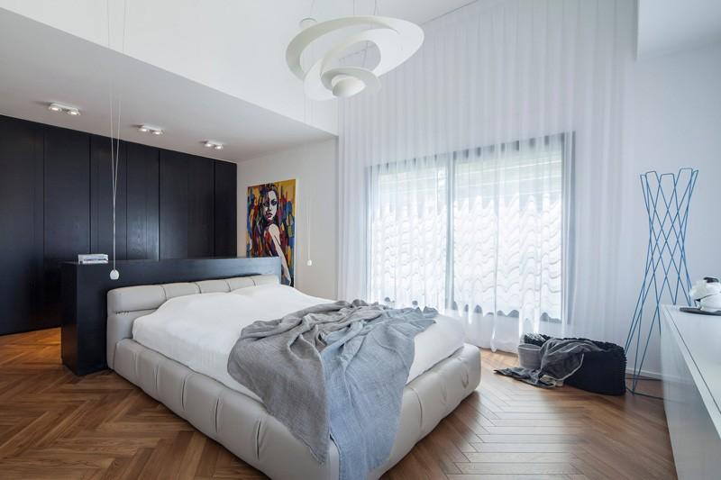 el piso y todo bien moderno