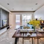 Creativo diseño de almacenamiento incorporado para maximiza  un pequeño apartamento