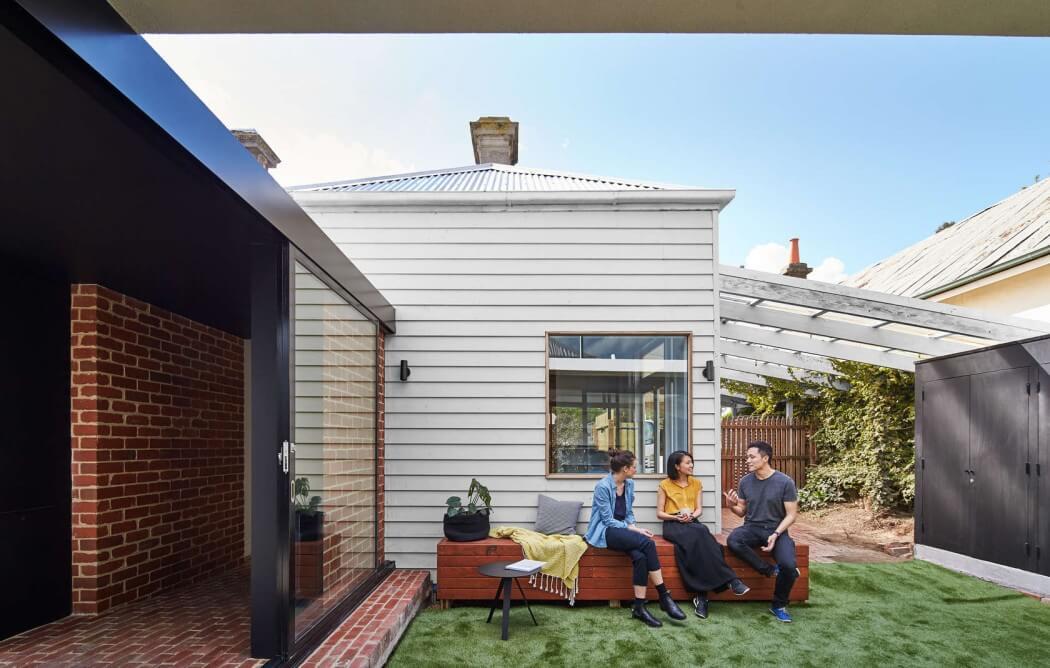 hogar al aire libre y moderno