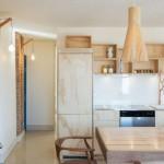 Pequeño apartamento minimalista  en Brooklyn N.Y. con una remodelación innovadora e  increíble