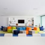 La casa de los juguetes en Brasil con características diversas en cada piso