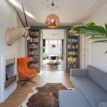 Transformación de un departamento tradicional en un hermoso ático con spa en la azotea en la ciudad de Rotterdam