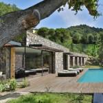 Casa que es mitad subterránea en Italia con vistas al mar de Liguria