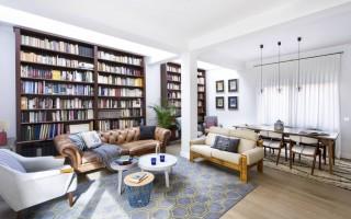 Hogar de ensueño para los amantes de los libros en Madrid, España