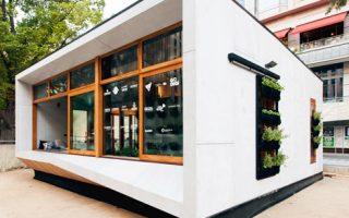 Casa autosustentable! No solo mostramos su bajo consumo energético, sino también unos interiores únicos