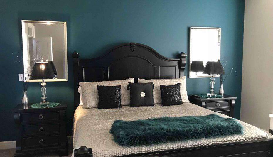 decoracion de dormitorios en tono azul