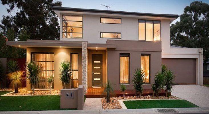 Frentes de casas modernas