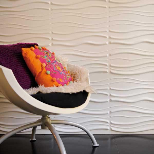 Paneles decorativos 3D: Hermoso acabado y ecológicos