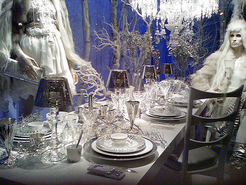 Imagen de decoración navideña escaparates