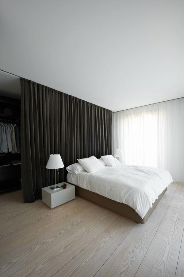 Diseño de interiores con cortinas al estilo minimalista (7)