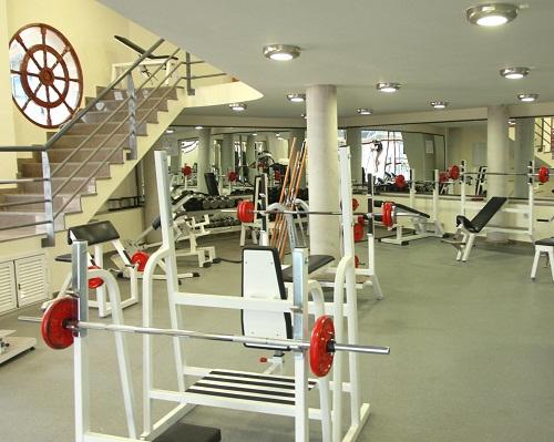 Decoración de gimnasios - Decoración del salon de ejercicios - Decoración atletas - (1)