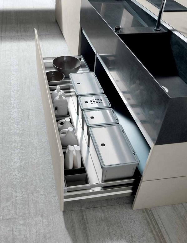 Cocinas modernas de cemento - Cocina moderna fabricada con cemento (1)