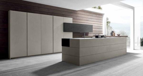 Cocinas modernas de cemento - Cocina moderna fabricada con cemento (3)