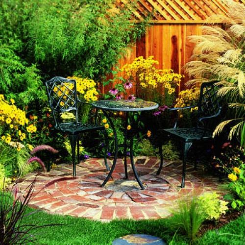 Decoración exteriores jardín