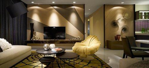 Ideas decoracion de interiores : Como decorar con lineas