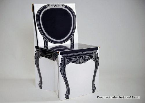 Decoración mueblería - La silla Eco Remix