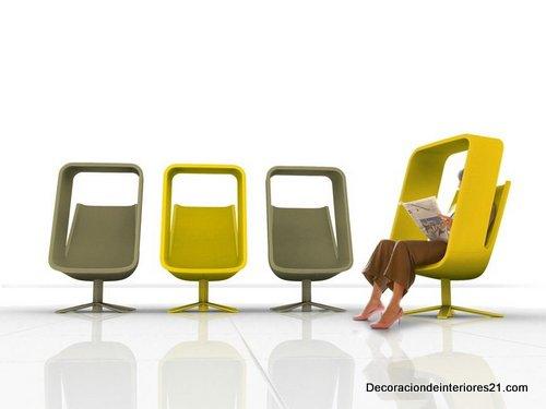 Decoración mueblería - La silla ventana por Mike Maaike