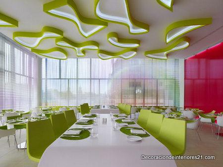 Decoración profesional de restaurantes (2)