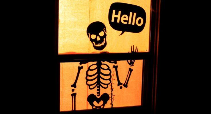 Halloween: Decoración Original y Sencilla para Ventanas al Exterior