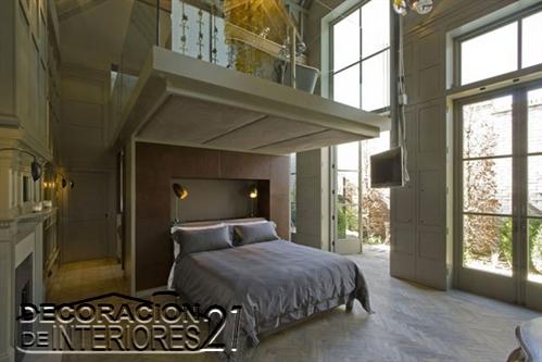 Mezzanine moderno en ambiente de estilo único  (11)