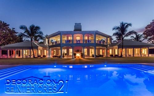 Conozcamos la mansión de playa de Celine Dion (1)