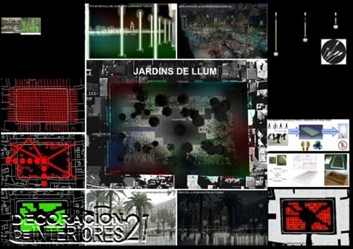 Propuesta triunfante para la iluminación Plaza Reial de Barce (14)