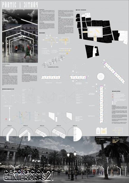 Propuesta triunfante para la iluminación Plaza Reial de Barce (4)