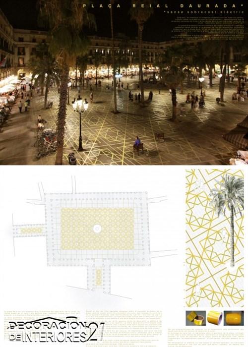 Propuesta triunfante para la iluminación Plaza Reial de Barce (8)