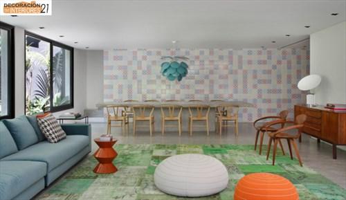 DM House una casa fresca llena de color juvenil (6)