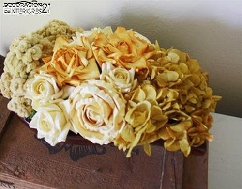 Decoración con flores secas (3)