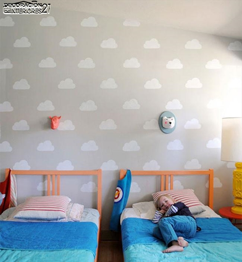 Ideas para decorar paredes con estilo infantil (4)