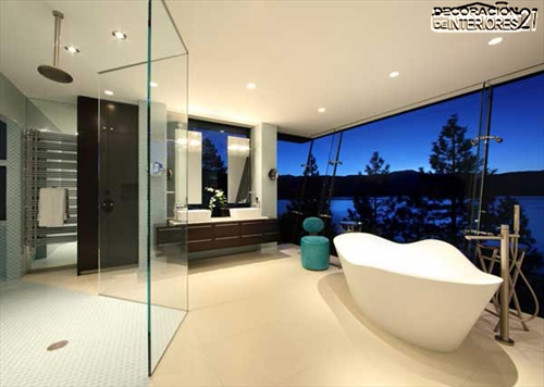 Decora tu baño con estas 28 ideas de decoración de baños al estilo moderno (11)