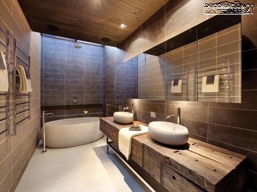 Decora tu baño con estas 28 ideas de decoración de baños al estilo moderno (13)