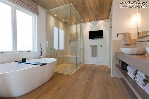 Decora tu baño con estas 28 ideas de decoración de baños al estilo moderno (20)