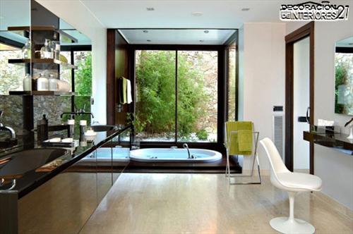 Decora tu baño con estas 28 ideas de decoración de baños al estilo moderno (21)