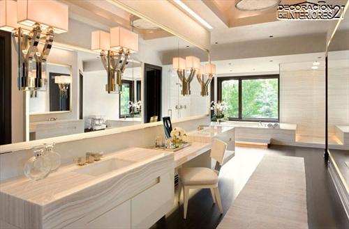 Decora tu baño con estas 28 ideas de decoración de baños al estilo moderno (23)