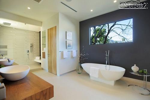 Decora tu baño con estas 28 ideas de decoración de baños al estilo moderno (25)