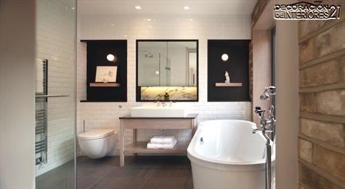 Decora tu baño con estas 28 ideas de decoración de baños al estilo moderno (5)