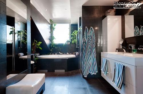 Decora tu baño con estas 28 ideas de decoración de baños al estilo moderno (6)