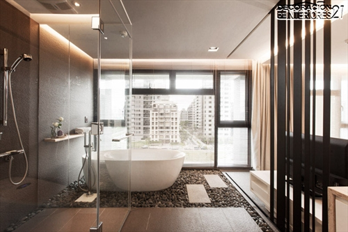 Decora tu baño con estas 28 ideas de decoración de baños al estilo moderno (8)