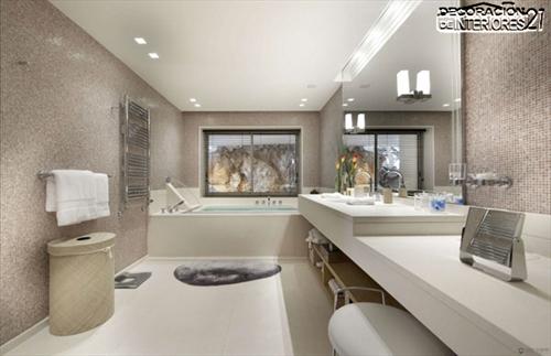 Decora tu baño con estas 28 ideas de decoración de baños al estilo moderno (9)