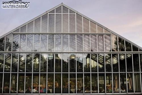 Ideas de decoración -  Invernadero convertido en fresco restaurante (2)