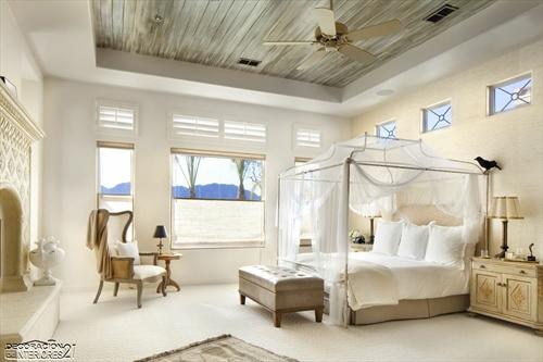 Cuarenta fabulosos modelos de dormitorios con camas que utilizan dosel (40)
