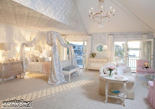 Cuarenta fabulosos modelos de dormitorios con camas que utilizan dosel (43)