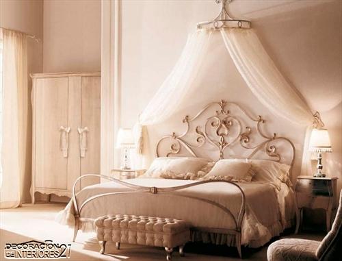 Cuarenta fabulosos modelos de dormitorios con camas que utilizan dosel (44)
