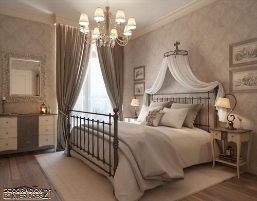 Cuarenta fabulosos modelos de dormitorios con camas que utilizan dosel (45)